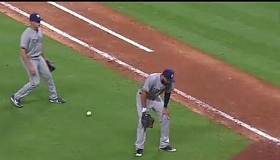 Hosmer dropped ball