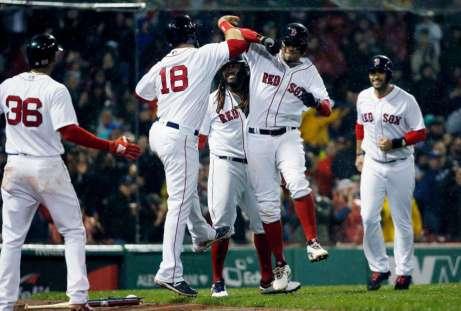 Red Sox sixth slam